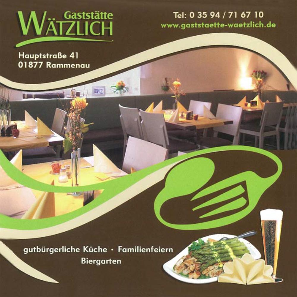 Partyservice der Gaststätte Wätzlich Rammenau